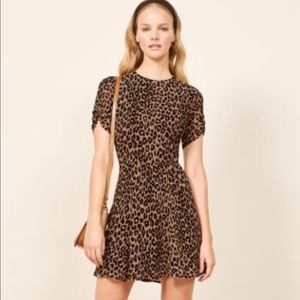Reformation Gracie Dress, Color: Cougar, Size: 8